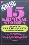 Ellery Queen - 15 Kriminal Stories - Das Beste aus Ellery Queen's-Kriminal-Anthologie: Vorn