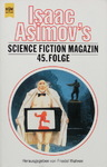 Friedel Wahren - Isaac Asimov's Science Fiction Magazin 45. Folge: Vorn