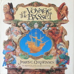 James C. Christensen & Renwick St. James & Alan Dean Foster - Voyage of the Basset: Umschlag vorn