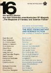 Anthony Boucher - 16 Science Fiction Stories - The Best From Fantasy And Science Fiction 2. Folge: Hinten