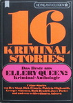 Ellery Queen - 16 Kriminal Stories - Das Beste aus Ellery Queen's-Kriminal-Anthologie: Vorn