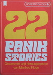 Manfred Kluge - 22 Panik Stories: Vorn