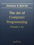 Donald E. Knuth - The Art of Computer Programming, Volume 1 - Fundamental Algorithms, Third Edition: Schuber - Rückside