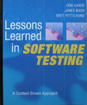 Cem Kaner & James Bach & Bret Pettichord - Lessons Learned in Software Testing - A Context-Driven Approach: Vorn