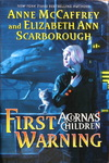 Anne McCaffrey & Elizabeth Ann Scarborough - Acorna's Children - First Warning: Umschlag vorn