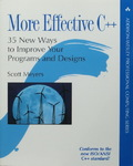 Scott Meyers - More Effective C++ - 35 New Ways to Improve Your Programs and Designs: Vorn