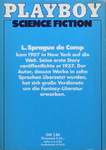 Lyon Sprague de Camp - Die besten Stories von L. Sprague deCamp: Hinten